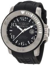 Invicta Men's 1071 Sea Hunter Automatic Black Dial Black Rubber Watch
