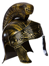 Roman Centurion Soldier Warrior Spartacus Deluxe Helmet Fancy Dress Accessory