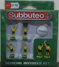 Subbuteo table de football officiel arbitres set ~ ~ Paul Lamond