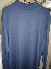 *******St. John's Bay Blue Mock Neck Sweater---Large
