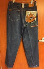 ☀Fubu Fat Albert & The Junkyard Gang Platinum 36 X 33.5 Men's Jeans☀