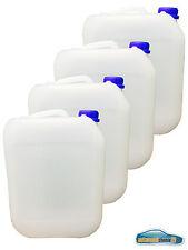 4x 5L Kunststoffkanister Kanister Behälter Wasserbehälter Plaste Kanne mit Decke