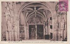 NANTES 257 voute intérieure porte cathédrale timbrée