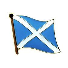 "SCOTLAND FLAG LAPEL PINS 0.5"" St Andrews Cross Saltire Badge Scottish Tie Tack"