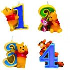 Number Candle Winnie Pooh Kid's Birthday Candle Cake Candle Birthday Pooh