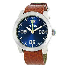 Nixon Corporal Blue Sunray Dial Mens Watch A2431656
