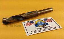 """Drill Hog 11/16"""" Drill Bit 11/16"""" Silver Deming Bit Cobalt HSS Lifetime Warranty"""