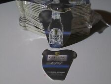 50 Count Guinness Black Lager Harp Shape Beer Bar Coasters Pub Mats Sleeve Stout