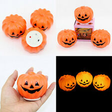 Lovely Pumpkin Night Light Halloween Decor Prop Carnival Party Jack-O-Lantern