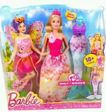 Barbie Fairytale Dress Up Dreamtopia 18 + Looks Barbie Doll 3 in 1