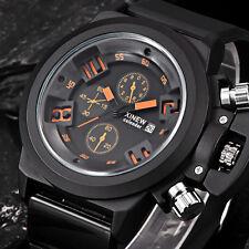 XINEW Mens Watch Luxury Sports Analog Quartz Digital Waterproof WristWatch #4