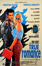 24X36Inch Art TRUE ROMANCE Movie POSTER Tarantino Pulp Fiction Kill Bill P32