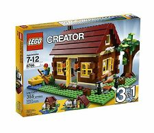 NEW IN BOX SEALED Lego Creator Log Cabin (5766) Retired Rare 355 pieces