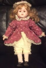 Heritage Mint Ltd Scottsdale Collectible Doll 14 inches tall Pretty