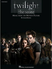 TWILIGHT SAGA MUSIC FROM THE MOTION PICTURE SONG BOOK PIANO SOLOS