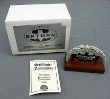 2000 DC Direct Comics Official Batman Batarang Mini Prop Statue with COA