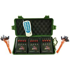 12Cue Wireless Firework Firing System/Remote&24 FREE clips Talon Safety Igniters