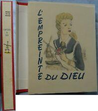 E/ L'EMPREINTE DU DIEU Maxence Van der Meesch (numéroté sur Alfa) ÉMILIEN DUFOUR