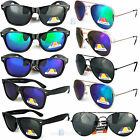 New POLARIZED Aviator Wayfarer sunglasses mens womens ladies new UV400 Vintage