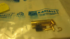 RADIALL R114003000W RF/ Coaxial Connector SMB(F) STG CL 2/50/S  1pcs