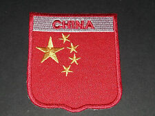 BACKPACKERS NATIONAL COUNTRY SHIELD FLAG SEW/IRON ON PATCH:- CHINA