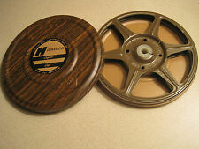 Duel  8mm  200ft  5 Inch  Metal Reel & Can Set  Brown Harwood