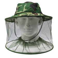 Mückenschutz Zecken, Moskitos, Bremsen Camou Hut Tarnmütze