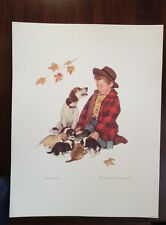 "Norman Rockwell Lithograph ""Pride of Parenthood"" limited edition numbered"