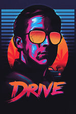 Drive Face Movie Fan Art POSTER 24x36