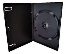 20x 1Fach DVD-Hüllen Leerhüllen Box Case 14mm Single Hülle Einfach 1er 1-fach
