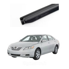 Smoked Side Window Vent Visors Deflectors Rain Guards for Toyota Camry 2007 2011