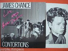 JAMES CHANCE / CONTORTIONS - Live Au Bains Douches 1980  LP  SCOPA 10008
