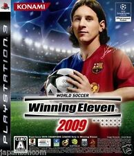 Used PS3 Winning Eleven 2009 SONY PLAYSTATION 3 JAPAN JAPANESE JAPONAIS IMPORT