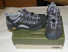 KEEN ALAMOSA 1006939 SIZE YOUTH 1 GRAY/PURPLE FREE SHIPPING NEW IN BOX