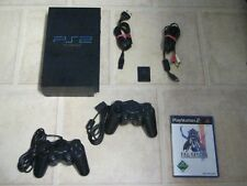 Playstation 2 komplett mit 2 Controller + Spiel Final Fantasy XII 12