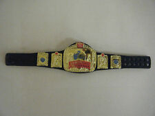 ELITE EUROPEAN OLD WWF WRESTLING WWE MATTEL CHAMPIONSHIP BELT ACCESSORIES FIGURE