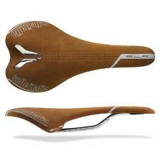 Selle Italia SLR Tan Nubuk Road Cycling Saddle NEW RRP £131.99 Leather Retro