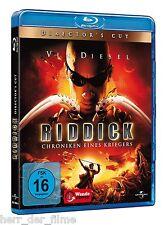 RIDDICK, Chroniken eines Kriegers (Vin Diesel) Blu-ray Disc NEU+OVP
