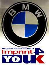 BMW Logo Vinyl Decals Stickers For Car or All Good Smooth Surface Unique