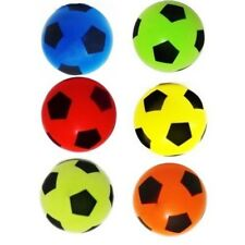 6X Soft Foam Sponge Outdoor & Indoor Foot Ball random Colours