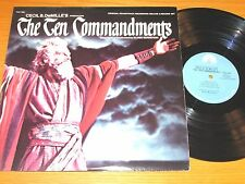 "MOVIE SOUNDTRACK DOUBLE LP - ELMER BERNSTEIN - PARAMOUNT ""THE TEN COMMANDMENTS"""