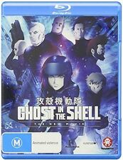 Ghost In The Shell: New Movie (2016, Blu-ray NIEUW)