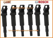 NEW BMW Ignition Coil Bosch 12137594937 (6pcs) Updated Version