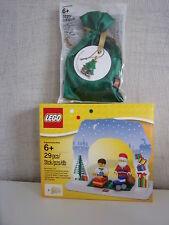 Lego 850939 Set di Babbo Natale + 5003083 Decorazioni albero