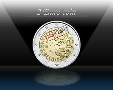 "FINLAND 2 EURO 2015 (No1) "" Jean Sibelius "" Commemorative coin * UNCIRCULATED"