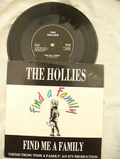 HOLLIES FIND ME A FAMILY / NO RULES em86 p/s  45rpm / single
