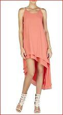 BCBG MAXAZRIA LIENNA AMBRISIA ASYMMETRICAL HEM DRESS size XS NWT $228-RackJ/77