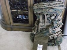 USMC ILBE MARPAT MAIN PACK FIELD BACKPACK W/ LID