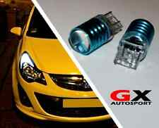 VAUXHALL CORSA D ASTRA GTC -WHITE CREE LED DRL 7443 SIDELIGHT DAY TIME RUNNING