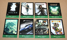 Xbox One Gamescom 2015 Complete Card Set Halo 5 Gigantic Rare Replay Fable Forza